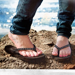 Coexist: A flip flop day by the sea!
