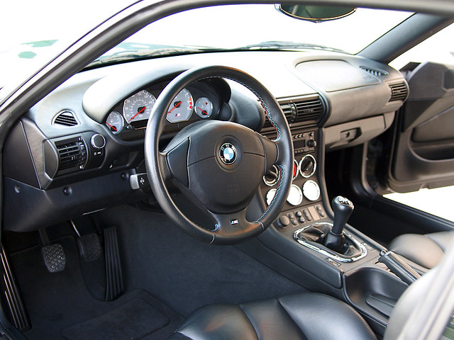 Black Z3 M Coupe Interior