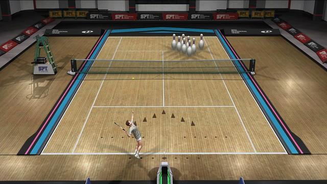 Virtua Tennis 4 - Pin Crusher