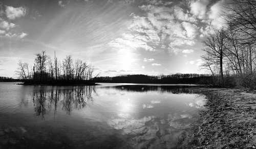 Panorama Kent Lake by ansonredford