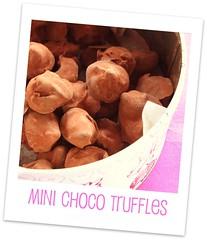 Mini Choco Truffles - Cindystar