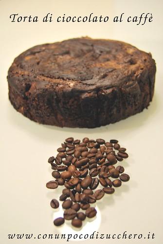 Torta di cioccolato al caffè