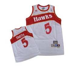 Atlanta Hawks #5 Josh Smith White Throwback Jersey (Terasa2008) Tags: jersey atlantahawks  cheapjerseyswholesale cheapmlbjerseys mlbjerseysfromchina mlbjerseysforsale cheapatlantahawksjerseys