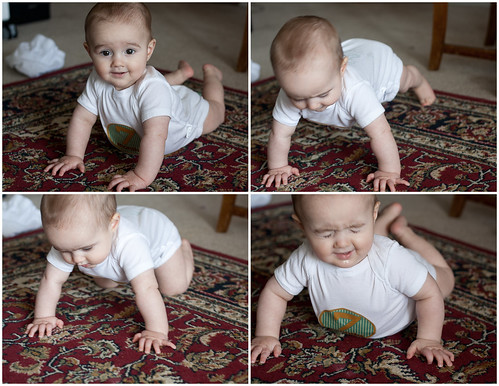Learning to Crawl. :)