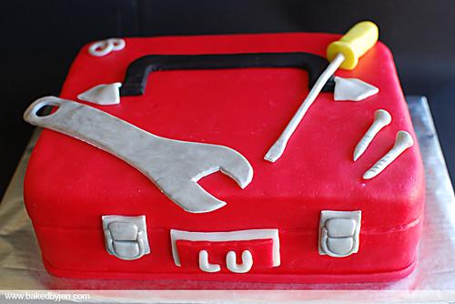 tool box cake
