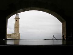 The lighthouse of Rethymnon (Eleanna Kounoupa) Tags: lighthouse crete rethymnon  venetianport