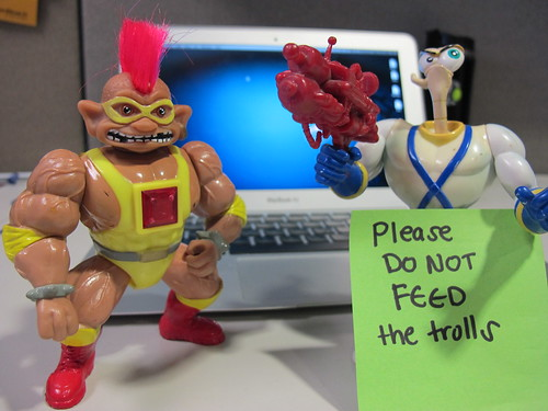 TROLLGORE and jim by serraboten, on Flickr