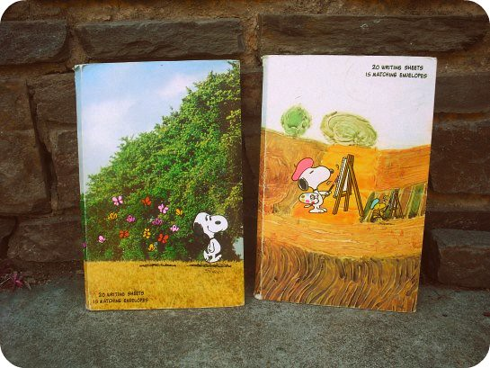 Snoopy stationary