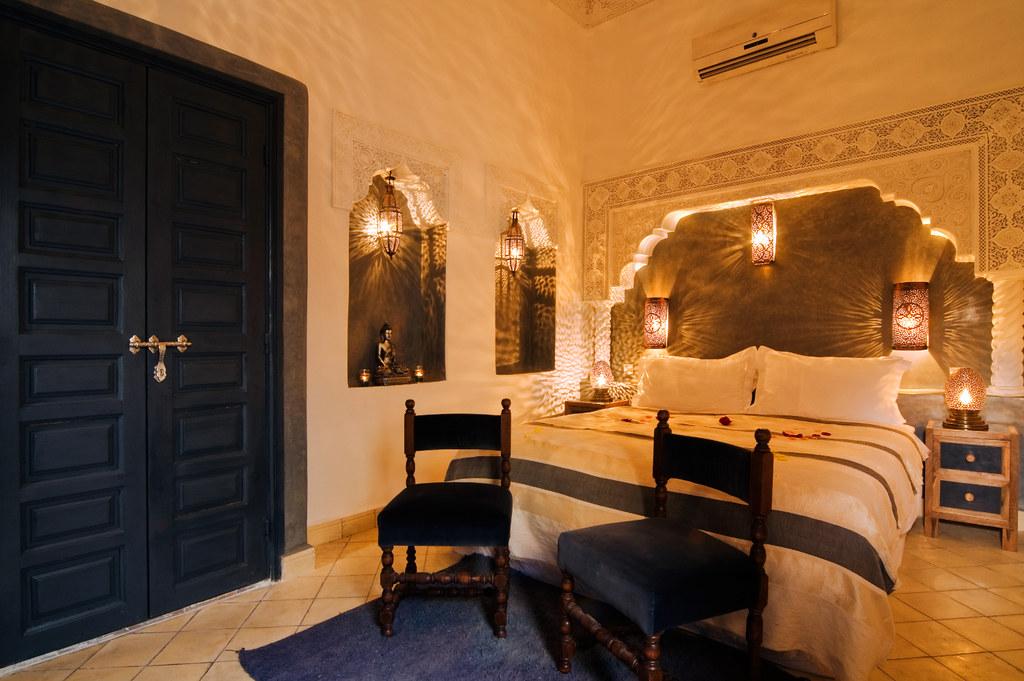 Eclairage Chambre Design :   style de chambre à coucher marocain chambre à coucher du Maroc