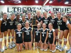 Liberty Junior volleyball