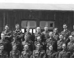 Stalag V111B School Tutors 1943 - Detail (brian nz) Tags: newzealand germany nz pow worldwar2 1943 prisoners allied prisonersofwar stalag stalagviiib stalag8b