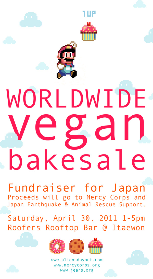 Bakesale Fundraiser for Japan