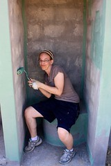 painting toilets is awkward