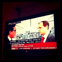 Bank of England keeps interest rates at 0.5% - Captured from @bbcnews