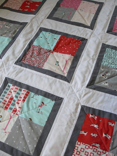 Jenny: Charming Baby Quilt