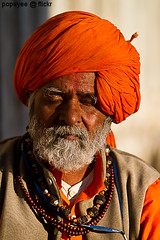 Meditation (Popeyee) Tags: old portrait india man canon photo eyes closed different image indian picture peaceful calm meditation sadhu