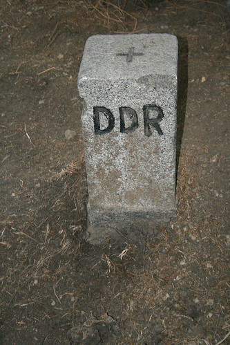 DDR Grenzstein
