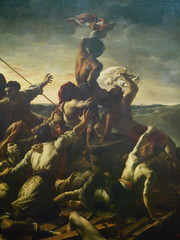 GÉRICAULT, Raft of the Medusa with Detail of Signal to Ship