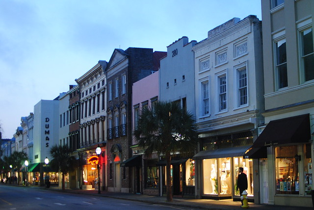 king street at night