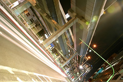 Tanimachi Junction - 06 (Kabacchi) Tags: night tokyo highway  nightview expressway  interchange      jct tanimachijunction ~tanimachijunction~
