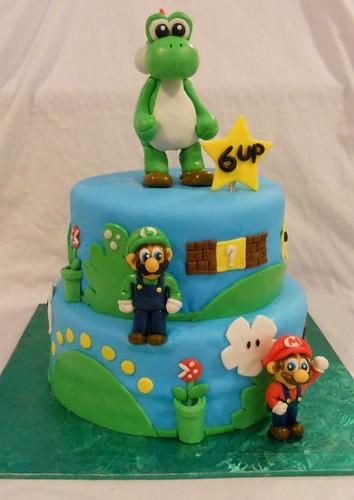 Yoshi Mario And Luigi Birthday Cake Delivery To Bronx NY