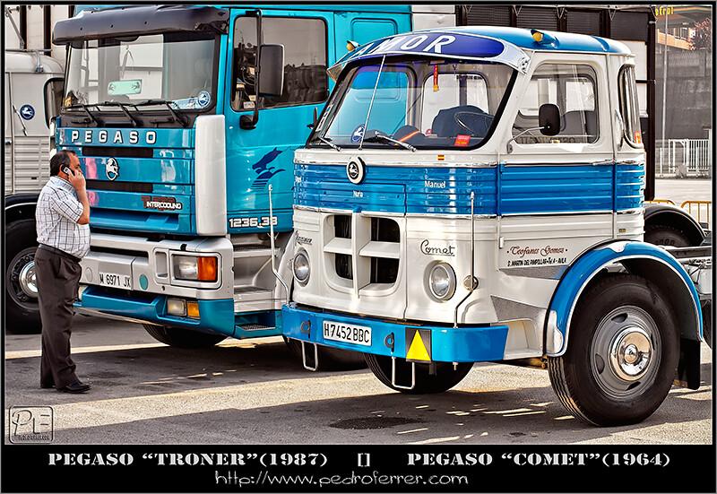 II Truck Show Festival de Torrelavega - Pegaso Comet y Pegaso Troner