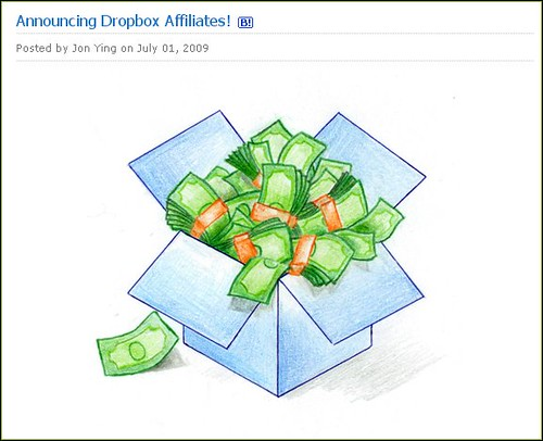 dropbox affiliate