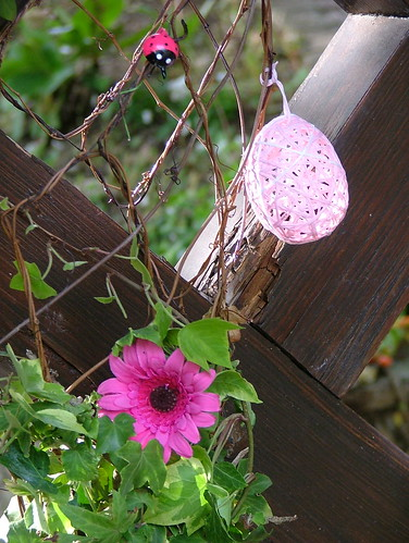 Pink Easter decoration