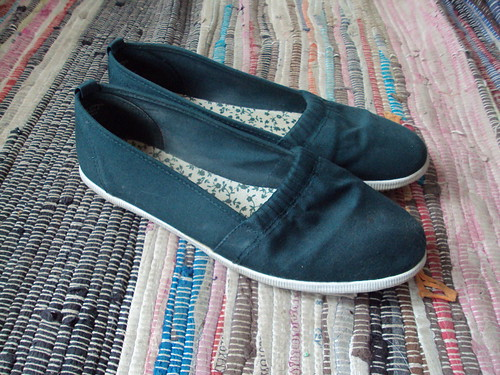 Forest Green Canvas Slip-ons