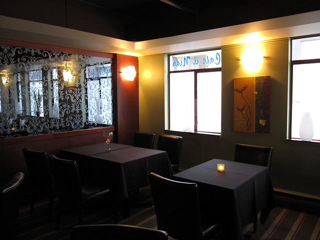 Il Nido restaurant interior