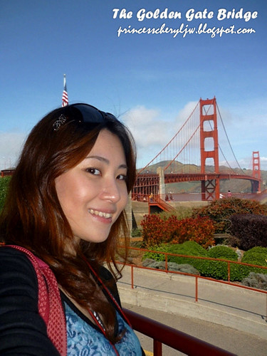 princess at golden gate bridge 3