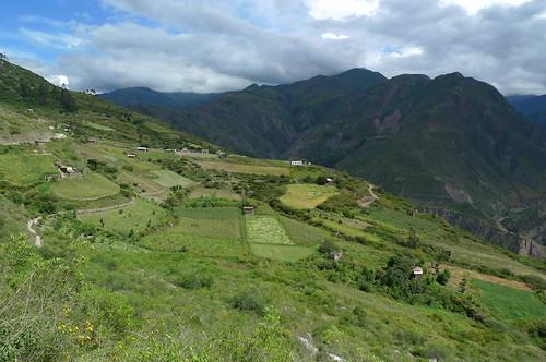 near Sorata, Bolivia