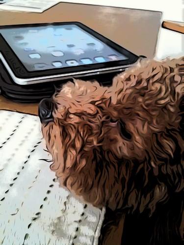 Jonathan&iPad