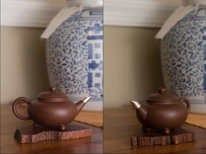 teapot after