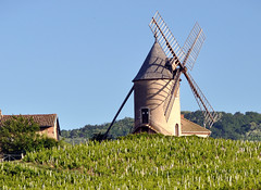 Moulin a Vent ...Beaujolais (keithhull) Tags: france windmill beaujolais oldmill moulinvent