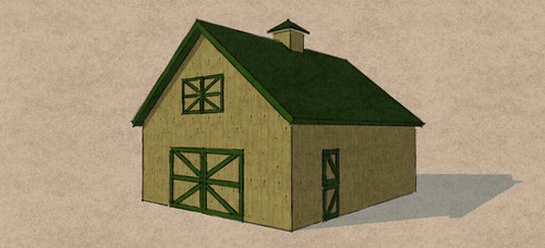 24'x30' Gable Barn