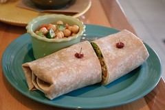 not-so-vegan wrap