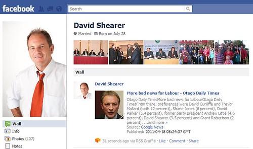 David Shearer spikes his mate