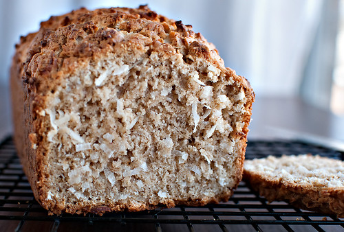 coconut bread-crumb