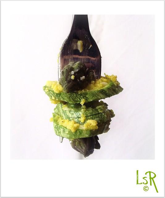 insalata asparagi zucchine e uova