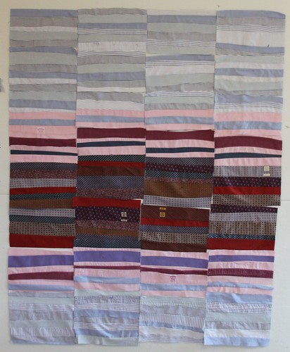 """recycled quilt"" ""memory quilt"" ""cool memory quilt"" ""recycled shirt quilt"" ""mamaka mills"" ""alix joyal"" ""tie quilt"""