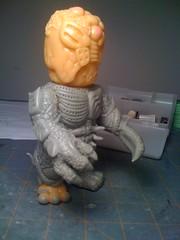 Chaosman 018 (TroyStith) Tags: earthquake tsunami donation kaiju customtoy realxhead chaosman apoxiesculpt troystith gorillamouth kaijuforjapan