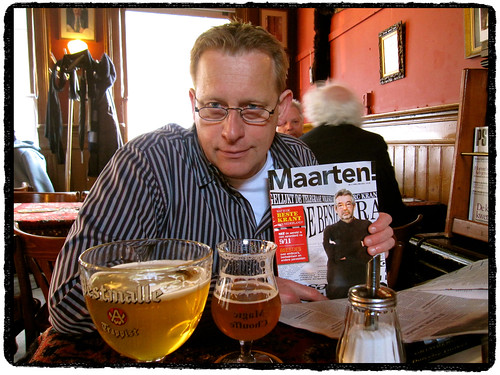 """Han en Maarten in Café """"Het Bolwerk"""" (Enschede) ;^) by Marcel van Gunst"""