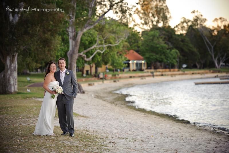 Julia & Sean's Wedding - At the foreshore