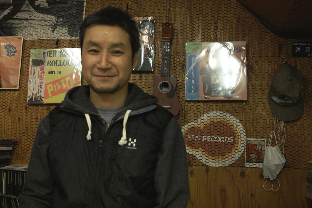 NEAT RECORDSのコンタさん@盛岡