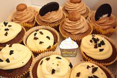 كب كيك الكبتشينو (Heavenly Sweets ☁) Tags: كريم عبدالله كيك أم آيس سندويش مارشمالو كب كوكيز الكب