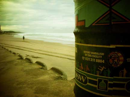 Gorilla Sticker Sighting #0080 - Durban
