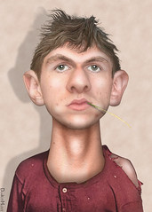 James O'Keefe - Caricature