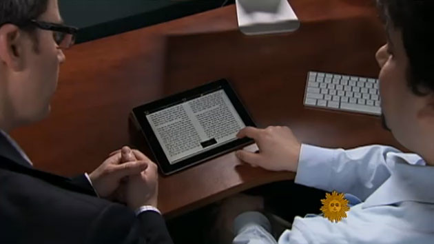 CBS Sunday Morning Show with Charles Osgood, Religion & Technology with RustyBrick