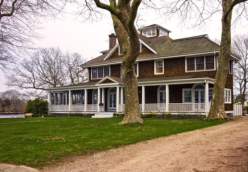 6 Water's Edge Road, Westerly, RI. This is the back side of the renovation ...